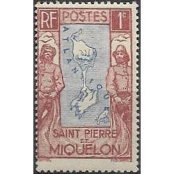133.- vyobrazení ostrovů Sant Pierre et Miquele,**,