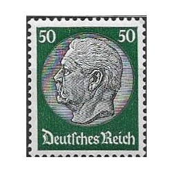 525.- Paul von Hindenburg ,**,