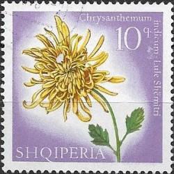 1144. Albanie,o, květiny,
