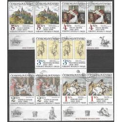 2616- 2620./5/,st,KD, Umění 1983,o,