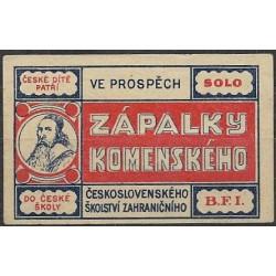 117. zápalky Komenského,