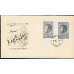 """573- 574./2/,FDC/1/, J.Fučík,o"""","""