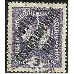 33. /185.Výplatní rakouské, přetisk,o,