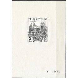 PT 3 Světová výstava poštovních známek PRAGA 1968,