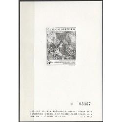 PT 4 Světová výstava poštovních známek PRAGA 1968,