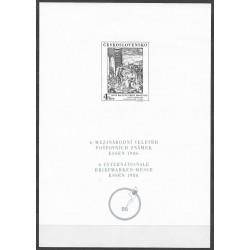 PT 1986 6. MEZINÁRODNÍ VELETRH POŠTOVNÍCH ZNÁMEK ESSEN 1986,