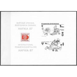 PT 18 Světová výstava poštovních známek HAFINA 1987,