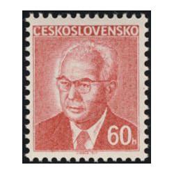 2166.-,fl1, Prezident Gustav Husák,**,
