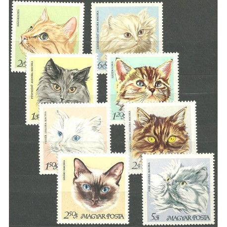 2387- 2394./8/, kočky,**,