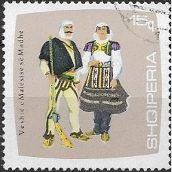 1177.- Albanie,o, kroje,