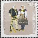 1177.- Albanie, kroje,o,