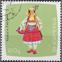 1178.- Albanie, kroje,o,