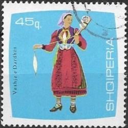 1180.- Albanie, kroje,o,