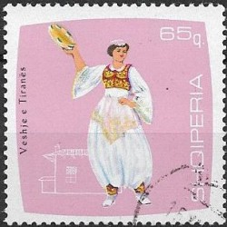 1182.- Albanie, kroje,o,