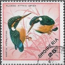 1323.- Albanie-  ptactvo,o,