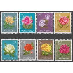 1153-1160./8/, flóra- růže,**,