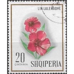 1278.- Albanie, květiny,o,
