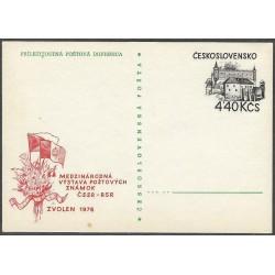 1976.173 Mezinárodní výstava poštovních známek ČSSR - RSR-,/*/,