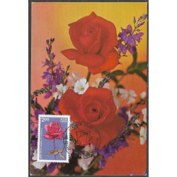 1009.- Indie, růže 1984,/*/,