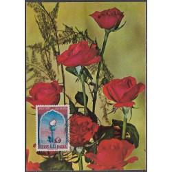 387. Indie, růže 1965,/*/,