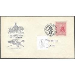 """451-/1/,FDC/1/, 950. výročí smrti sv. Vojtěcha,o"""","""
