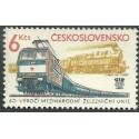 2530. 60. výročí Mezinárodní železniční unie,**,