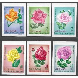 526- 531./6/,střihané, Flóra- růže,**,