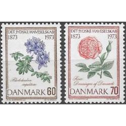 Dánsko 100. let Jutlandové zahradnické společnosti,543- 544./2/,**,