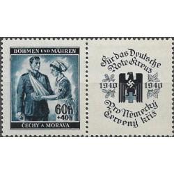50.-,KP, Německý červený kříž I,**,
