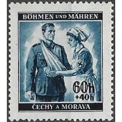 50.-  Německý červený kříž I,**,