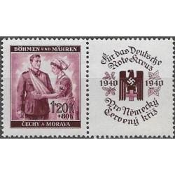 51.-,KP, Německý červený kříž I,**,