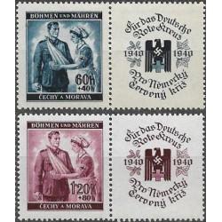 50- 51./2/,KL, Německý červený kříž I,**,