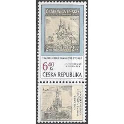 347.,St, Tradice české známkové tvorby,**,