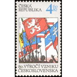 195-, 80. výročí vzniku ČSR,**,