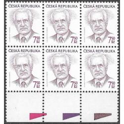 426.,šestibl., prezident České republiky Václav Klaus,**,