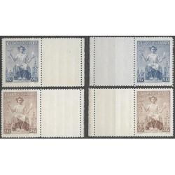 348- 349./2/,KLKP,/4/, 20. výročí vydání prvních čs. známek,**,