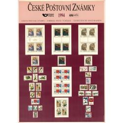 1994 vznik České republiky,