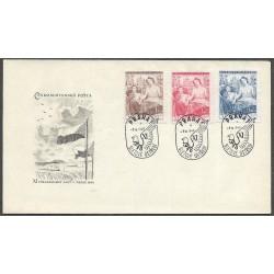 467- 469./3/,FDC/1/, XI. všesokolský slet  v Praze,o-,