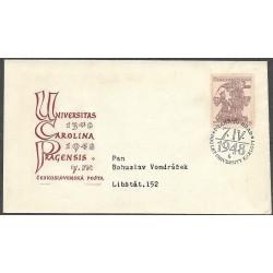 472-,FDC/1/, 600. výročí založení Karlovy univerzity,o-,