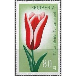 1477.- Albánie-  tulipány,**,