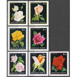 3548- 3554/7/, flóra- růže,**,