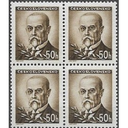414.-,čtbl, Portréty - T.G.Masaryk,**,