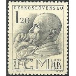 458- 10. výročí úmrtí T.G.Masaryka,**,