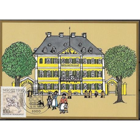 1445. Kaiserliches Postamt Bonn1879,BDR,/*/,