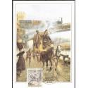 1445. Post und Eisenbahn 1865 .,BDR,/*/,
