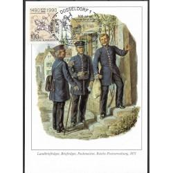 1445. Landbrieftrager, Brieftrager,Packmeister, Reichs-Postverwaltung 1871,BDR,/*/,