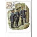 1445. Landbrieftrager, Brieftrager, Packmeister, Reichs- Postverwaltung 1871, BDR,/*/,