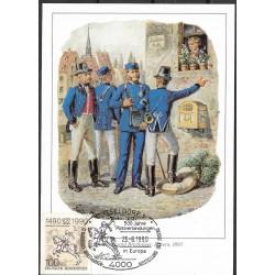 1445. Postillione und Brieftrager Bayern 1893, BDR,/*/,
