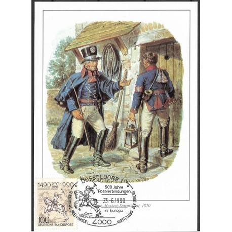 1445. Postillione Hessen Darmstadt 1820,BDR,/*/,