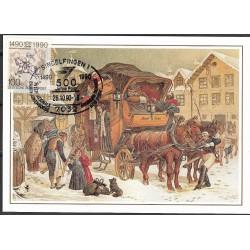 1445. Postkutsche in Frankfurt,BDR,/*/,-o,